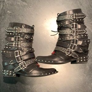 RARE Jeffrey Campbell Draco boots
